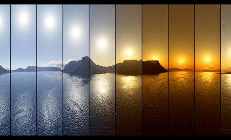 Python 超级简单精准计算地点日出日落时间