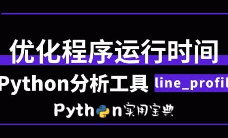Python 优化—算出每条语句执行时间