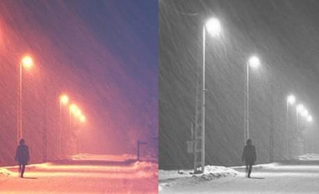 Python 批量转化彩色图片为黑白图片